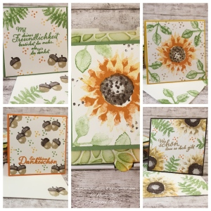 Collage_Herbstliche Pizzaschachtel mit Mini-Karten_Stampin Up_1