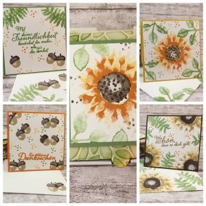Collage_Herbstliche Pizzaschachtel mit Mini-Karten_Stampin Up_1
