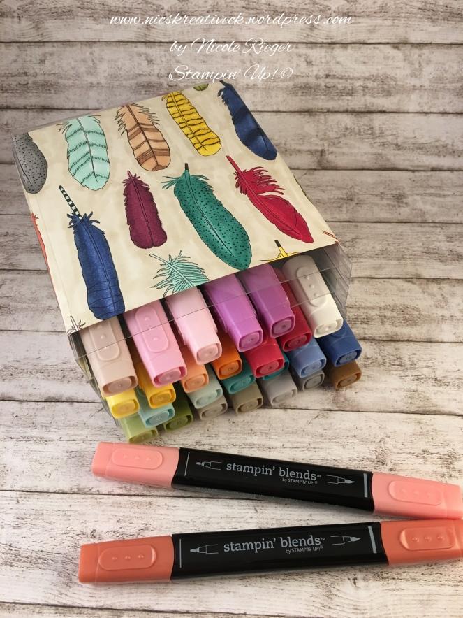 Stampin Blenders_Aufbewahrung DIY_DSP Meine Farben
