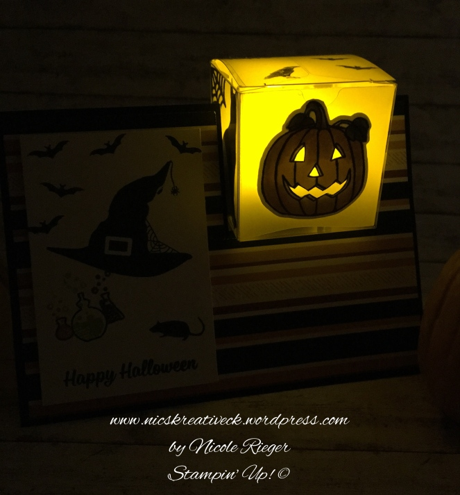 Stampin up_Box in a card_Halloween_Windlicht