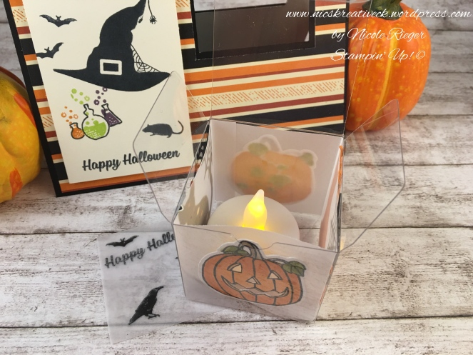 Stampin Up_Box in a card_Halloween_Windlicht_offen