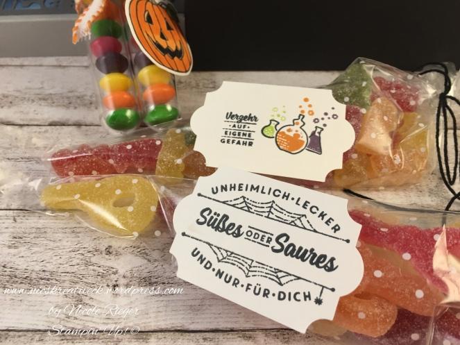 Stampin Up_Halloween Box_Inhalt_Süsses oder Saures