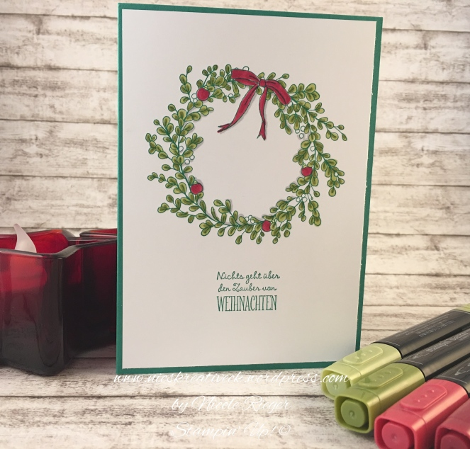 Stampin Up_Weihnachtszauber_Blends_1