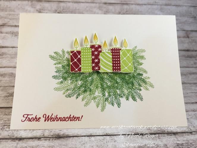 Stampin_Up_Freude im Advent_Kerzen_Grün