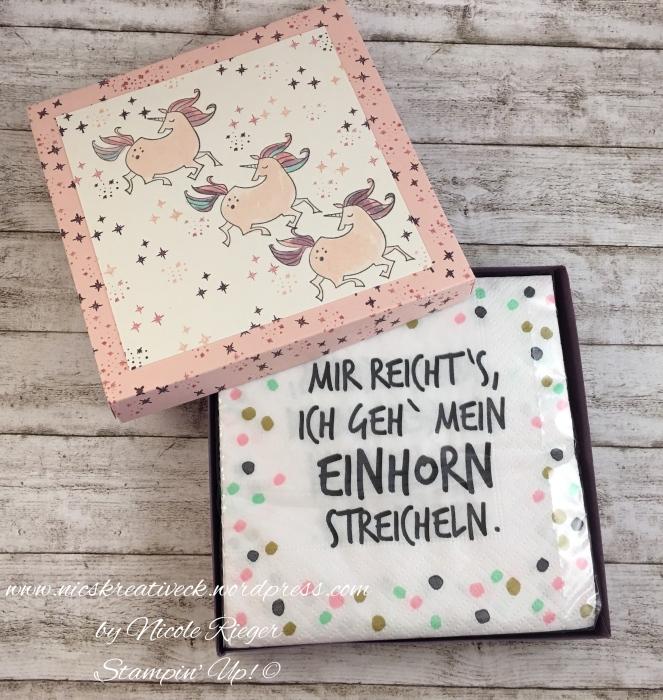 Stampin Up_Einhörner_Spruch