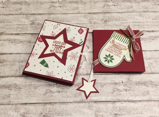 Stampin Up_OnStage 2017_Swaps_weihnachtliche Verpackungen